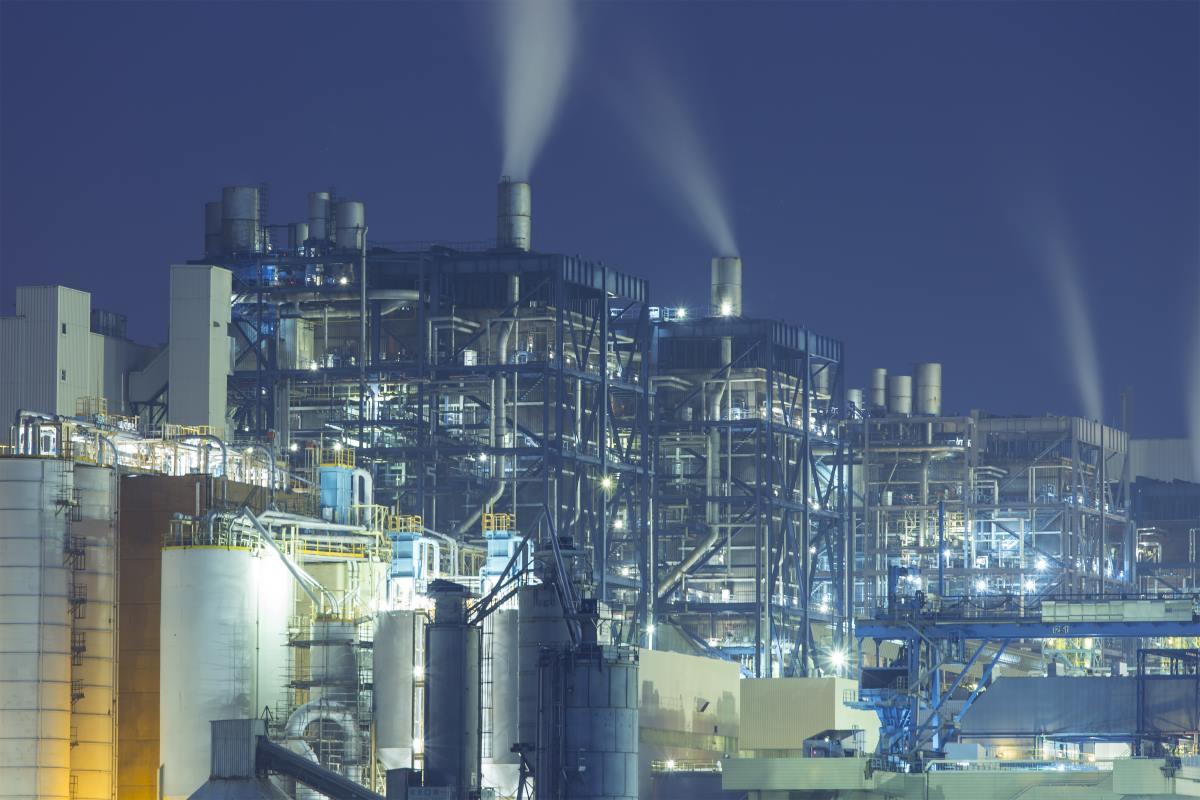 secure power plant