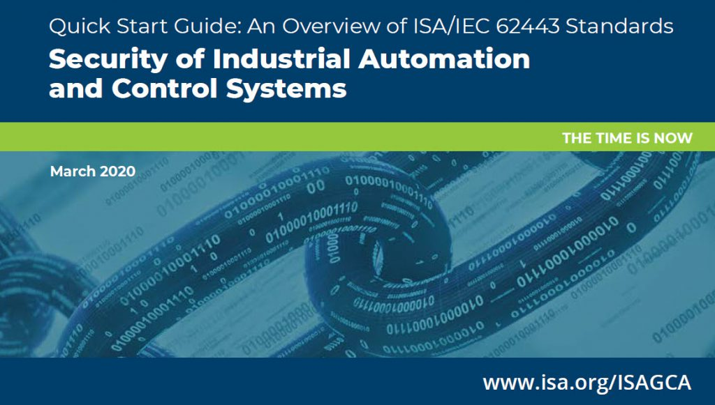 ISA Global Cybersecurity Alliance releases guide to ISA-IEC 62443 standards 2