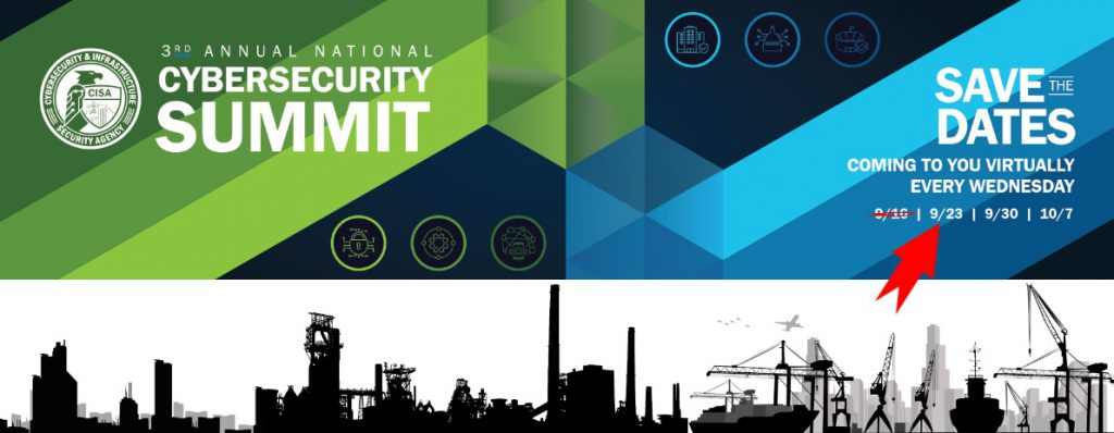 CISA Cybersecurity Summit address supply chain security in critical infrastructure