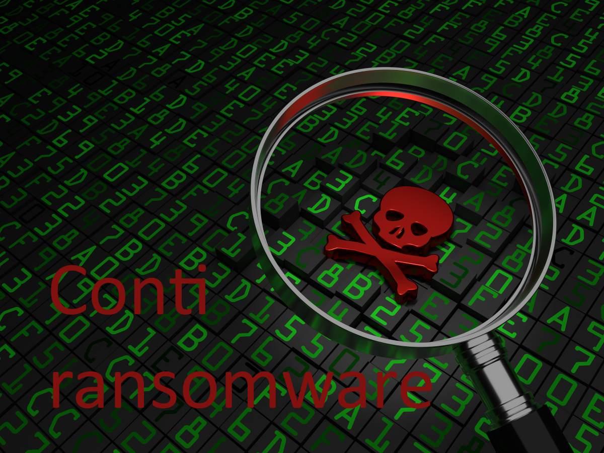 Conti ransomware attacks